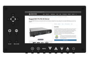 Rugged Rack-Mount LCD #MPM701