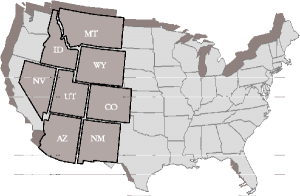 Small Territory Map